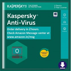 Kespersky anti virus 1 Pc 1 year activation