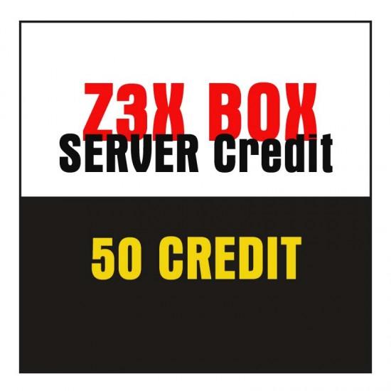 Z3X Box Server Credit 50 Credit