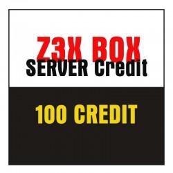 Z3X Box Server Credit 100 Credit