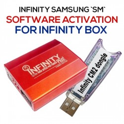 INFINITY SAMSUNG `SM` SOFTWARE ACTIVATION FOR INFINITY BOX PRODUCTS
