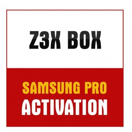 Z3X BOX SAMSUNG PRO activation