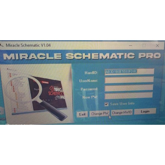 Miracle Schematic Pro hardware tool activation