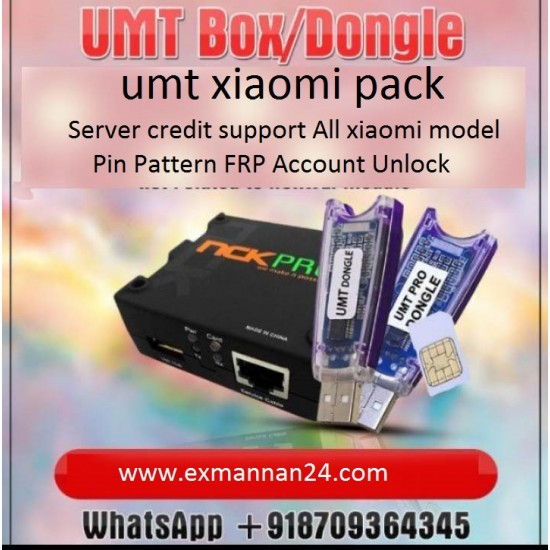 UMT BOX dongle Xiaomi Credit 10 Credit pack