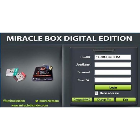 MIRACLE BOX DIGITAL Activation